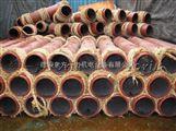 钢衬刚玉陶瓷管 克服了钢管硬度低 屶巬
